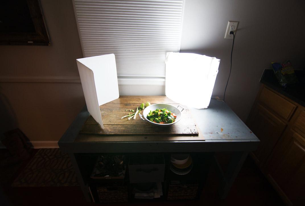 cách chụp hình đồ ăn