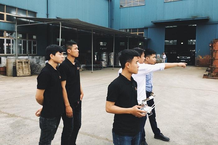 quy trình quay phim giới thiệu dự án bất động sản